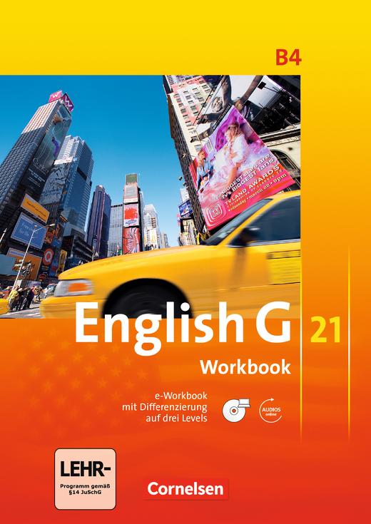 English G 21 - Workbook mit CD-ROM und Audios online - Band 4: 8. Schuljahr