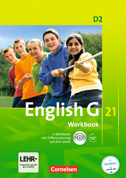 English G 21 - Workbook mit CD-ROM (e-Workbook) und Audios online - Band 2: 6. Schuljahr
