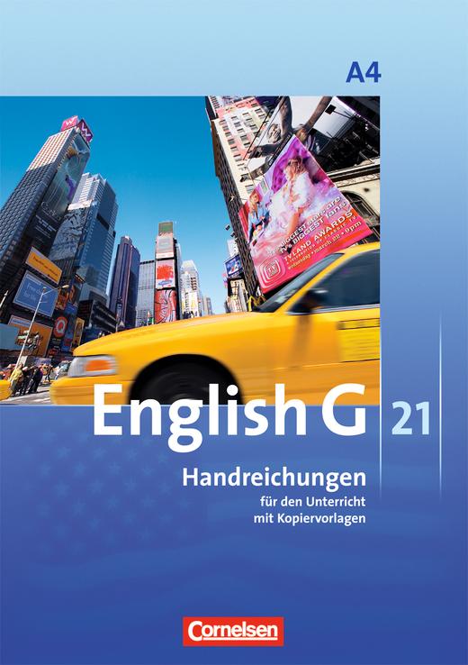 English G 21 - Handreichungen für den Unterricht - Band 4: 8. Schuljahr