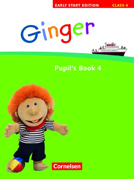 Ginger - Pupil's Book - Band 4: 4. Schuljahr