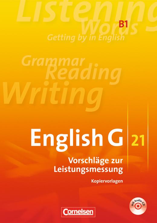 English G 21 - Vorschläge zur Leistungsmessung - Kopiervorlagen mit CD - Band 1: 5. Schuljahr