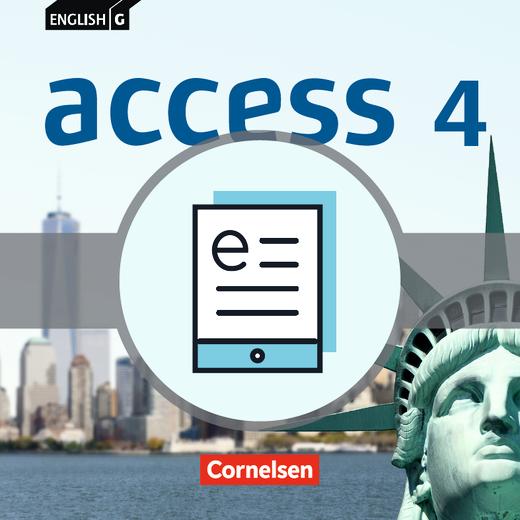 English G Access - Schülerbuch - Lehrerfassung als E-Book - Band 4: 8. Schuljahr