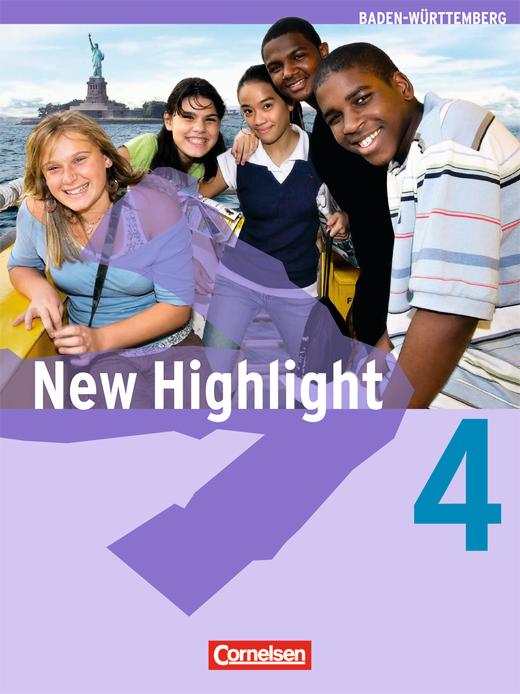 New Highlight - Schülerbuch - Band 4: 8. Schuljahr
