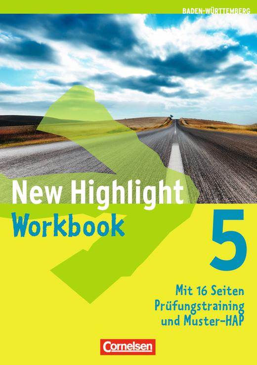 New Highlight - Werkrealschulen (3 Wochenstunden) - Workbook - Band 5: 9. Schuljahr