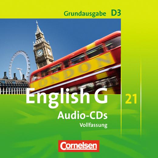 English G 21 - Audio-CDs - Band 3: 7. Schuljahr