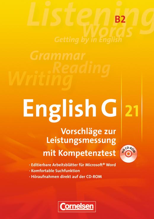 English G 21 - Leistungsmessung - CD-Extra (CD-ROM und CD auf einem Datenträger) - Band 2: 6. Schuljahr