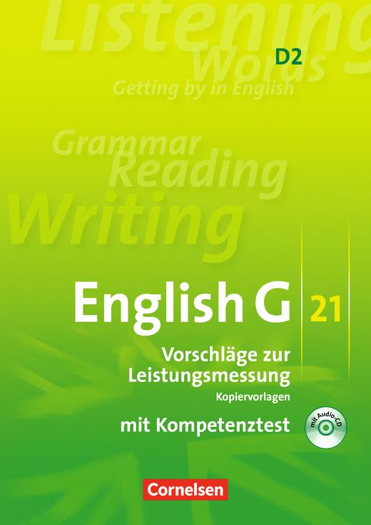 English G 21 - Vorschläge zur Leistungsmessung - Kopiervorlagen mit CD - Band 2: 6. Schuljahr