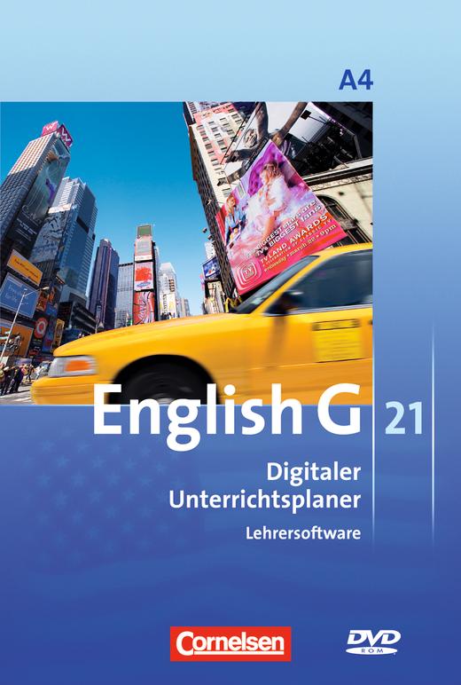 English G 21 - Digitaler Unterrichtsplaner - DVD-ROM - Band 4: 8. Schuljahr