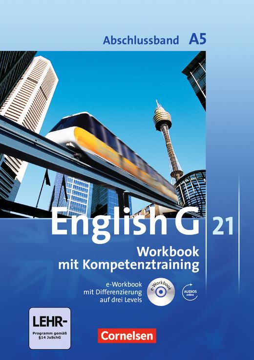 English G 21 - Workbook mit CD-ROM und Audios online - Abschlussband 5: 9. Schuljahr - 5-jährige Sekundarstufe I