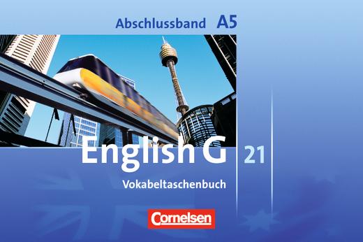 English G 21 - Vokabeltaschenbuch - Abschlussband 5: 9. Schuljahr - 5-jährige Sekundarstufe I