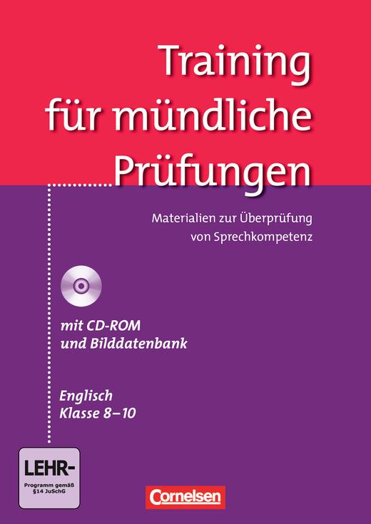 English G 21 - Training für mündliche Prüfungen - Materialien zur Überprüfung von Sprechkompetenz - Band 4-6: 8.-10.Schuljahr