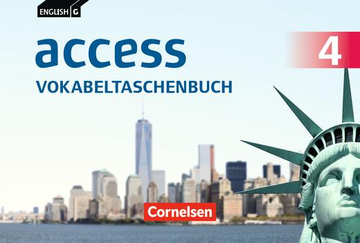 English G Access - Vokabeltaschenbuch - Band 4: 8. Schuljahr