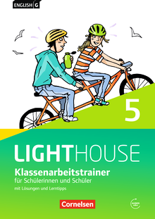 English G Lighthouse - Klassenarbeitstrainer mit Lösungen und Audios online - Band 5: 9. Schuljahr