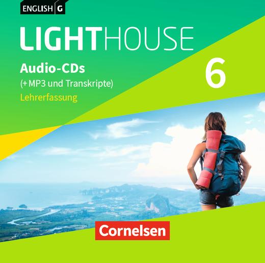 English G Lighthouse - Audio-CDs (Vollfassung) - Band 6: 10. Schuljahr