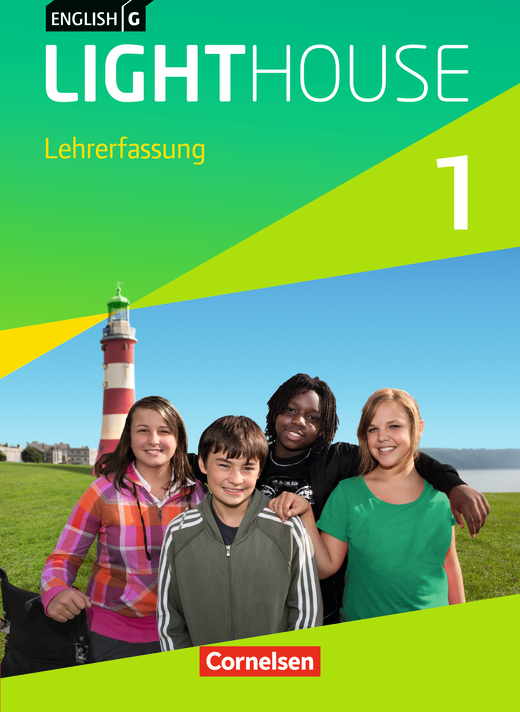 English G Lighthouse - Schülerbuch - Lehrerfassung mit Lesezeichen - Band 1: 5. Schuljahr