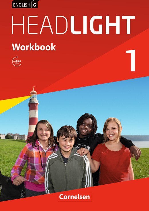 English G Headlight - Workbook mit Audios online - Band 1: 5. Schuljahr