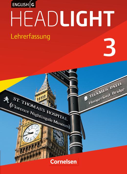 English G Headlight - Schülerbuch - Lehrerfassung - Band 3: 7. Schuljahr