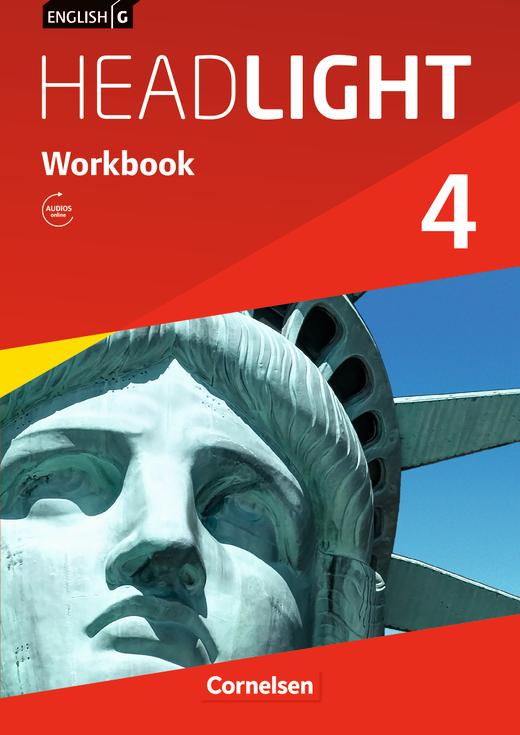 English G Headlight - Workbook mit Audios online - Band 4: 8. Schuljahr