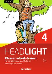 English G Headlight - Klassenarbeitstrainer mit Lösungen und Audios online - Band 4: 8. Schuljahr