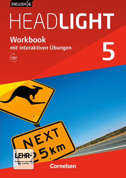 English G Headlight - Workbook mit interaktiven Übungen auf scook.de - Band 5: 9. Schuljahr