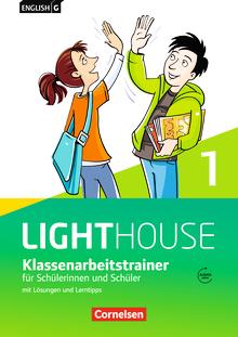 English G Lighthouse - Klassenarbeitstrainer mit Lösungen und Audios online - Band 1: 5. Schuljahr