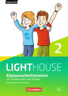 English G Lighthouse - Klassenarbeitstrainer mit Lösungen und Audios online - Band 2: 6. Schuljahr