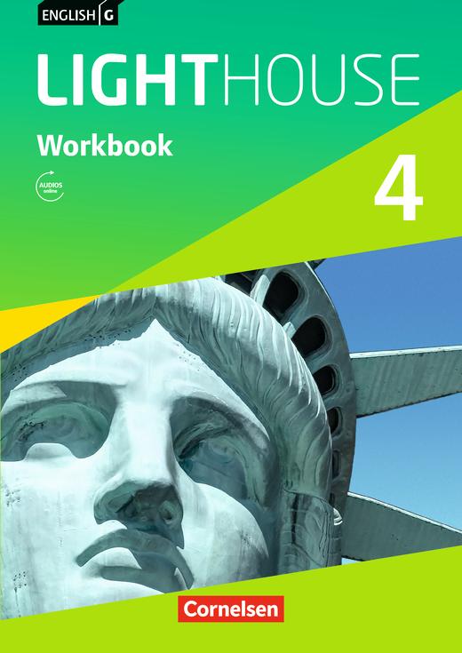 English G Lighthouse - Workbook mit Audios online - Band 4: 8. Schuljahr
