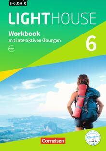 English G Lighthouse - Workbook mit interaktiven Übungen auf scook.de - Band 6: 10. Schuljahr