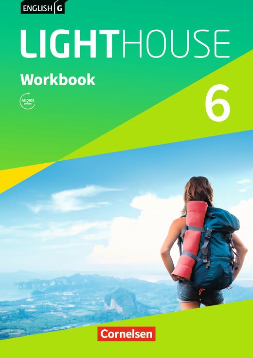 English G Lighthouse - Workbook mit Audios online - Band 6: 10. Schuljahr