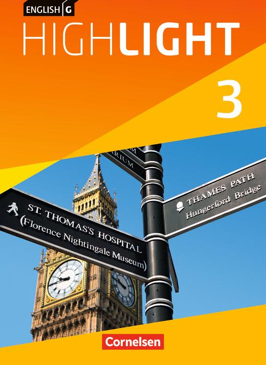 English G Highlight - Schülerbuch - Band 3: 7. Schuljahr