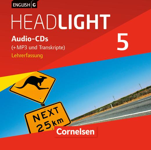 English G Headlight - Audio-CDs (Vollfassung) - Band 5: 9. Schuljahr