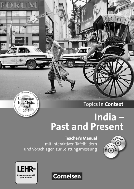 Topics in Context - India - Past and Present - Teacher's Manual mit CD und DVD-ROM
