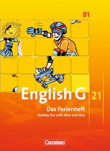 English G 21 - Das Ferienheft - Holiday fun with Alice and Max - Arbeitsheft - Band 1: 5. Schuljahr