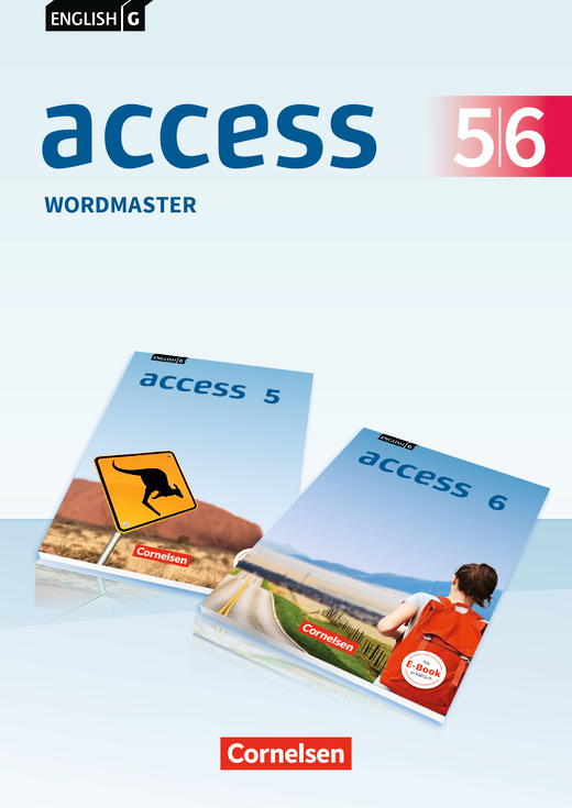 English G Access - Wordmaster mit Lösungen - Band 5/6: 9./10. Schuljahr