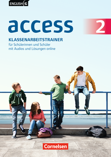 English G Access - Klassenarbeitstrainer mit Audios und Lösungen online - Band 2: 6. Schuljahr