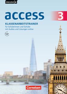 English G Access - Klassenarbeitstrainer mit Audios und Lösungen online - Band 3: 7. Schuljahr