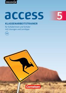 English G Access - Klassenarbeitstrainer mit Audios und Lösungen online - Band 5: 9. Schuljahr