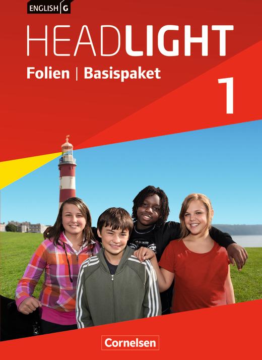 English G Headlight - Folien - Basispaket - Band 1: 5. Schuljahr