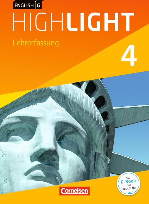 English G Highlight - Schülerbuch - Lehrerfassung - Band 4: 8. Schuljahr