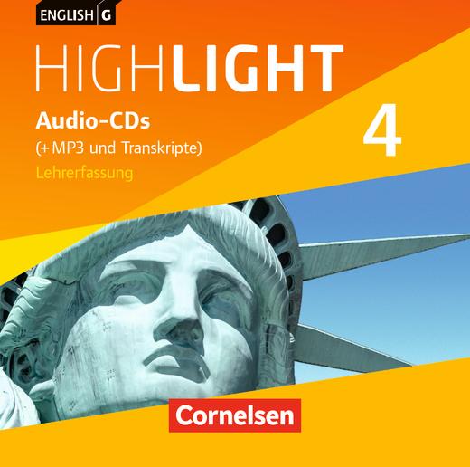 English G Highlight - Audio-CDs (Vollfassung) - Band 4: 8. Schuljahr