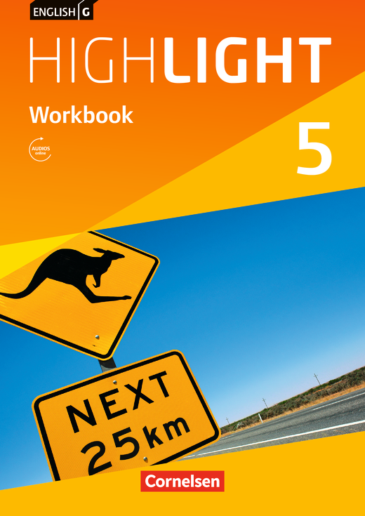 English G Highlight - Workbook mit Audios online - Band 5: 9. Schuljahr