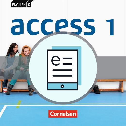 English G Access - Schülerbuch - Lehrerfassung als E-Book - Band 1: 5. Schuljahr