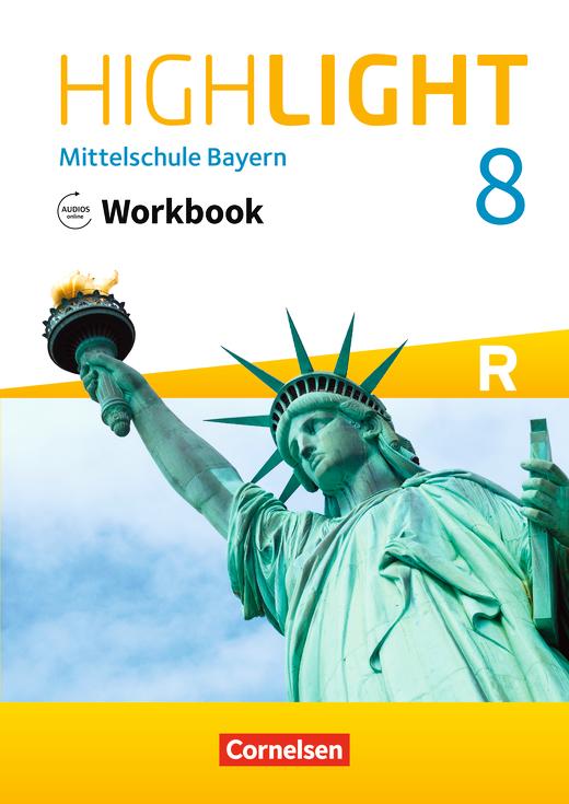Highlight - Workbook mit Audios online - 8. Jahrgangsstufe