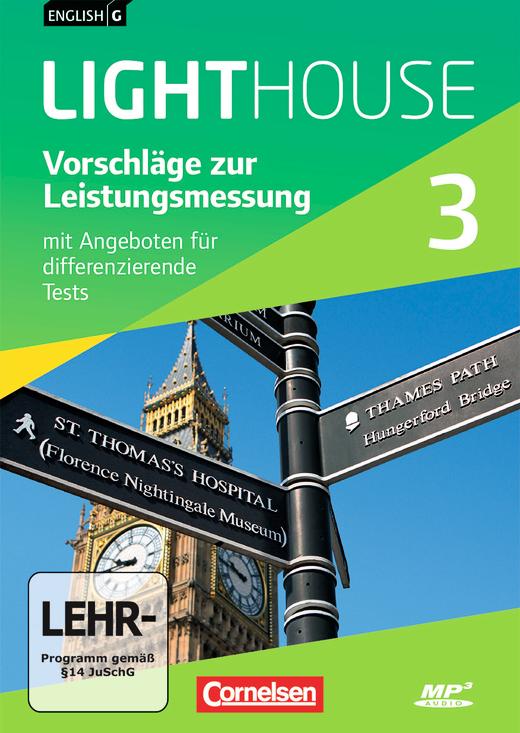 English G Lighthouse - Vorschläge zur Leistungsmessung - Mit Angeboten für differenzierende Tests - CD-Extra - Band 3: 7. Schuljahr