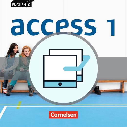 English G Access - Unterrichtsmanager - Vollversion auf DVD-ROM - Band 1: 5. Schuljahr