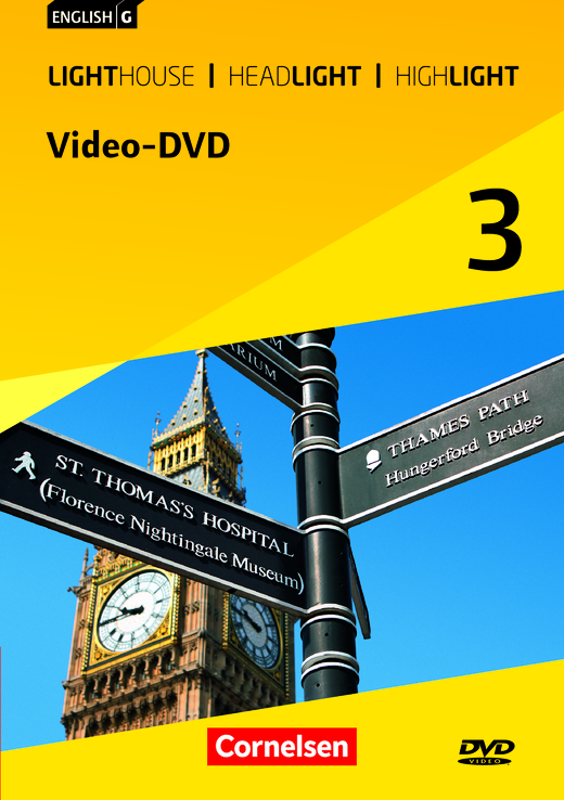English G Lighthouse / English G Headlight / English G Highlight - Video-DVD - Band 3: 7. Schuljahr