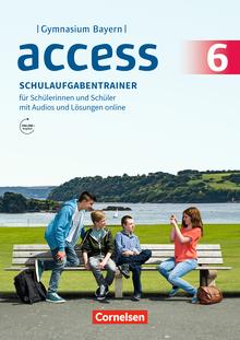 Access - Schulaufgabentrainer mit Audios und Lösungen online - 6. Jahrgangsstufe
