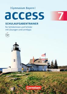 Access - Schulaufgabentrainer mit Audios und Lösungen online - 7. Jahrgangsstufe