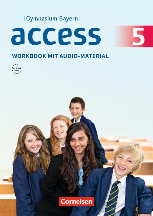Access - Workbook mit Audios online und MyBook - 5. Jahrgangsstufe