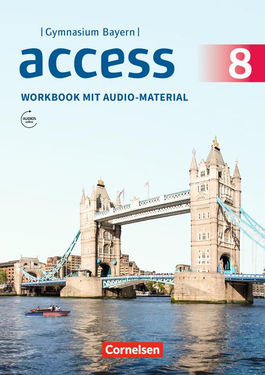 Access - Workbook mit Audios online - 8. Jahrgangsstufe